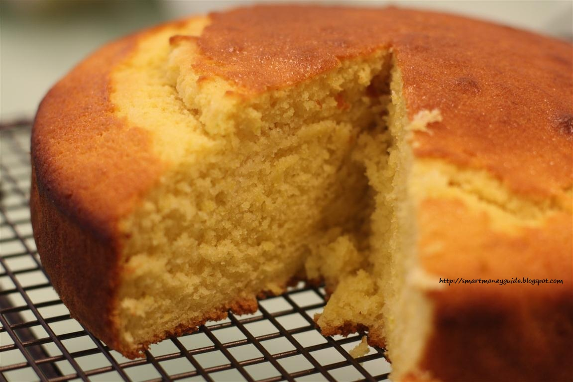 La torta super veloce all'arancia.