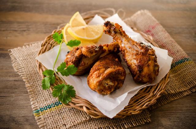 Pollo marinato tandoori