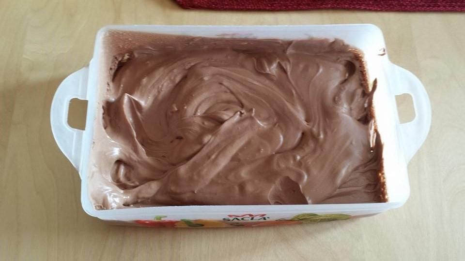 gelato al cioccolato bimby