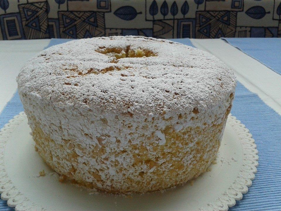 Torta chiffon Bimby
