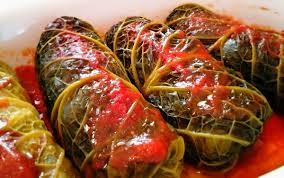 Foto ricetta Bimby involtini di verza con carne