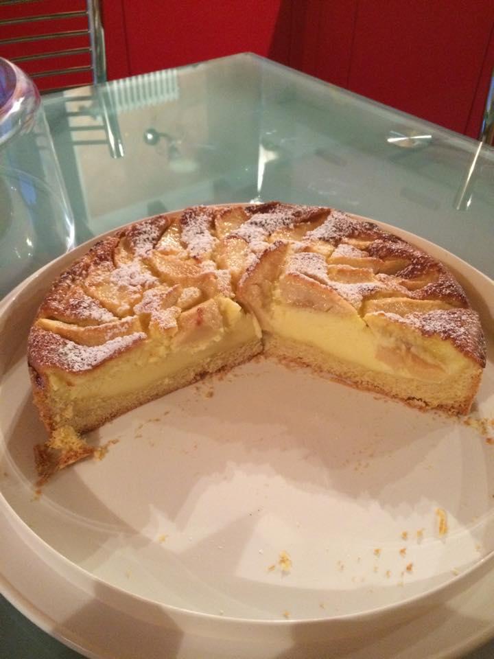 Ricetta torta al mascarpone e mele bimby