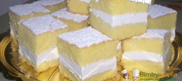 Ricetta della torta paradiso bimby