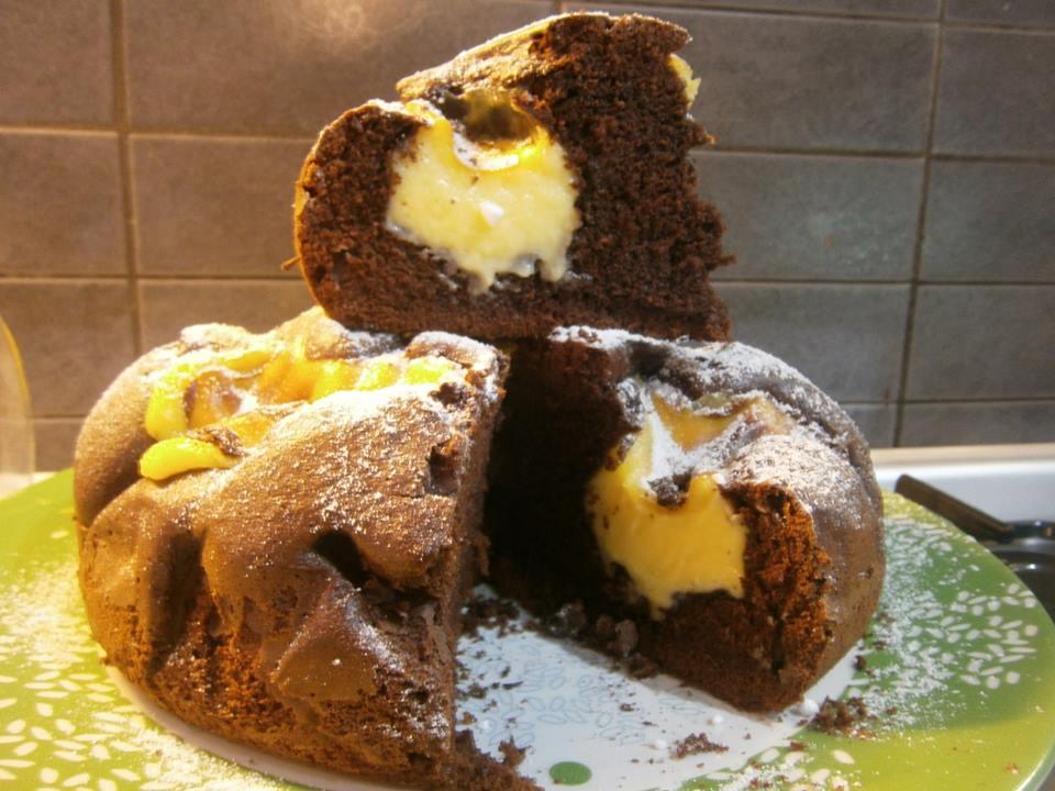 Ricetta torta alla crema di nua bimby