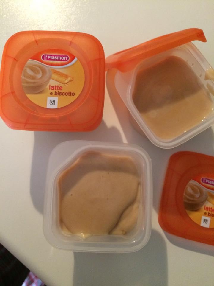 Merenda Plasmon Bimby latte e biscotto