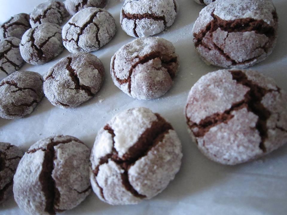 chocolate crinkles Bimby Maura