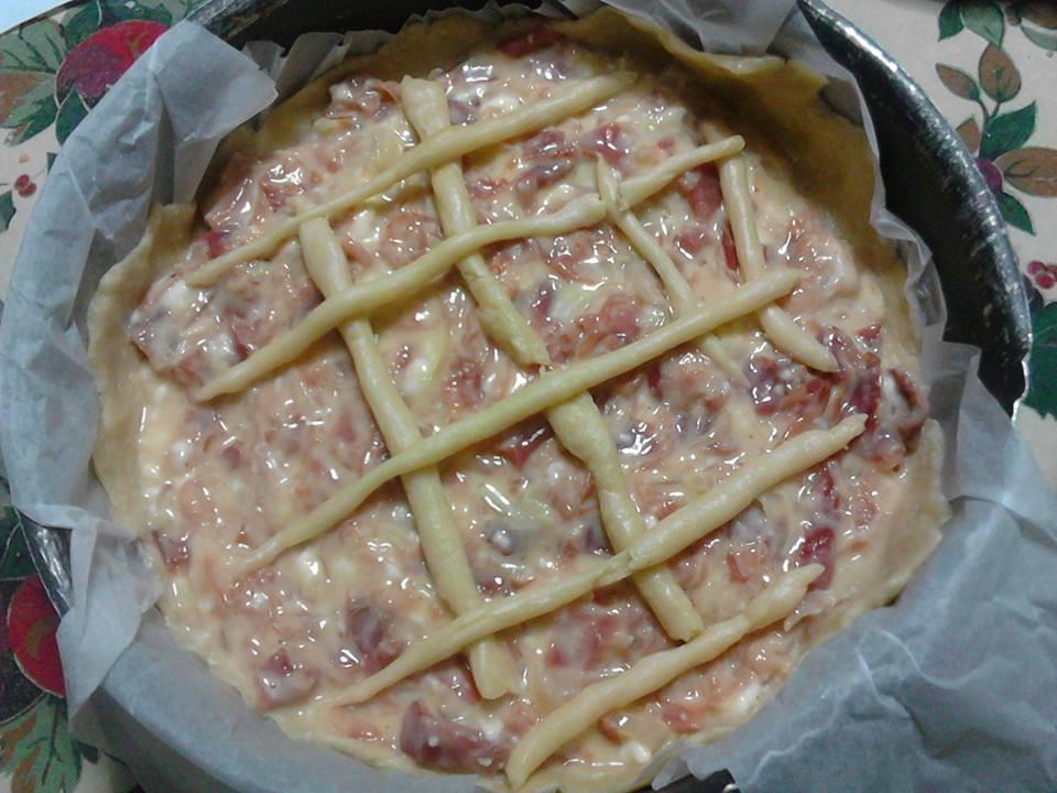 crostata salata bimby marilena