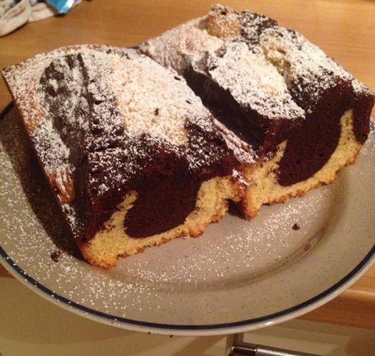 plum cake marmorizzato bimby