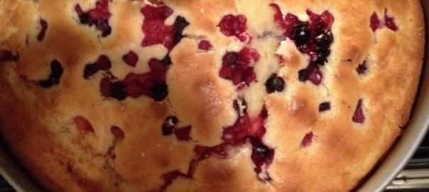 torta mascarpone e frutti di bosco Bimby Ionica