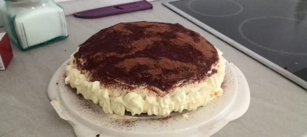 torta tiramisù bimby