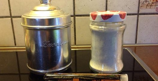 zucchero vanigliato bimby