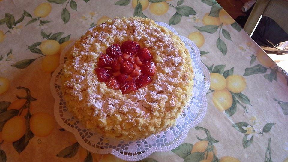 Torta mimosa Bimby Luisa