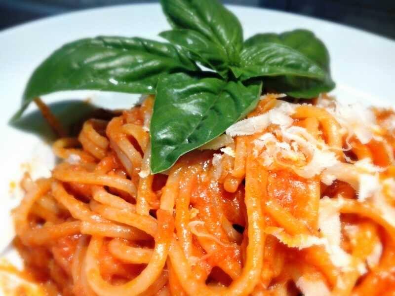 pasta risottata tonno basilico