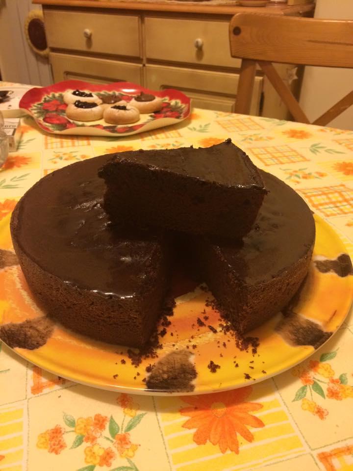 torta al vino rosso Bimby Alessandra