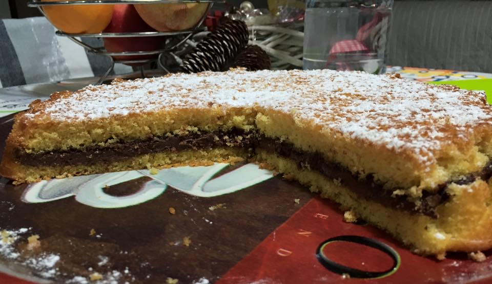 torta soffice alla nutella Bimby