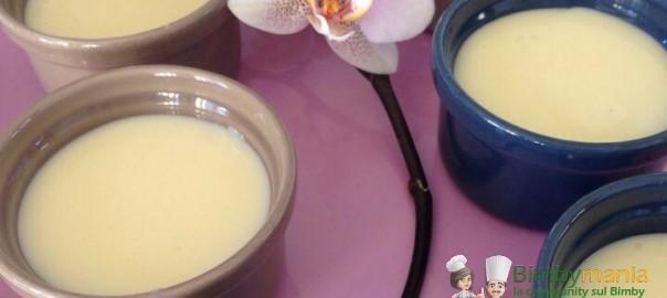 budino alla vaniglia BImby Paola