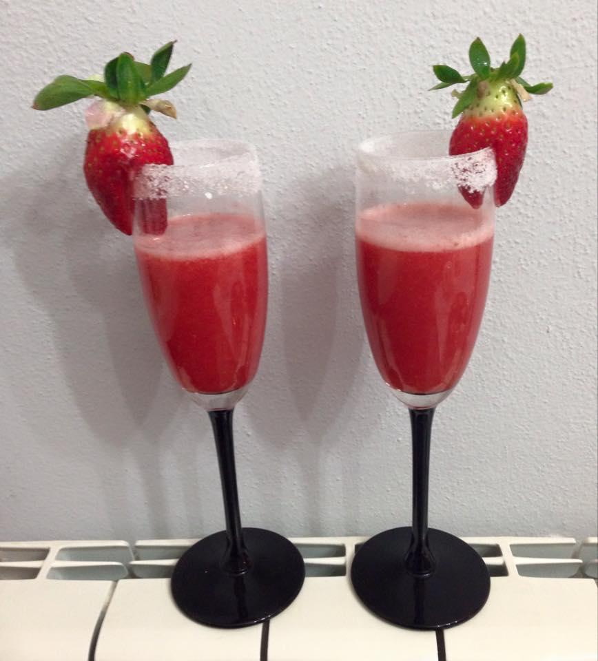 cocktail alla fragola Bimby Tiziana