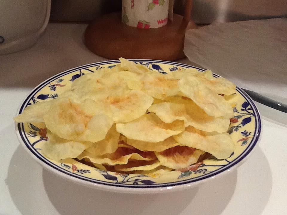 patate chips al microonde arianna