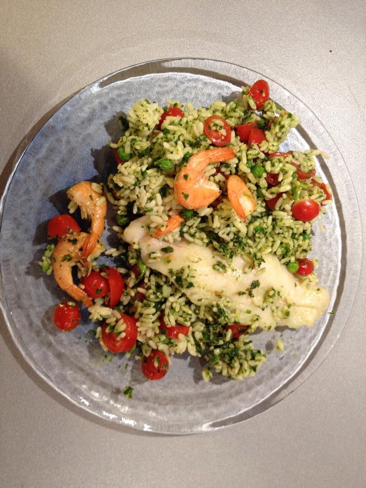 riso e pesce con verdure a varoma bimby Cinzia