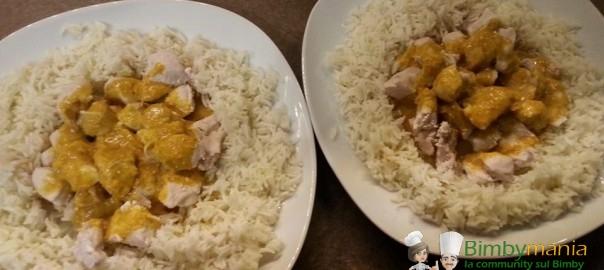 riso con pollo al curry bimby Benny