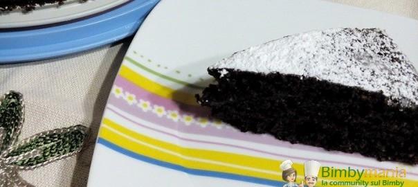 torta al cioccolato Bimby no uova e burro Daniela ++