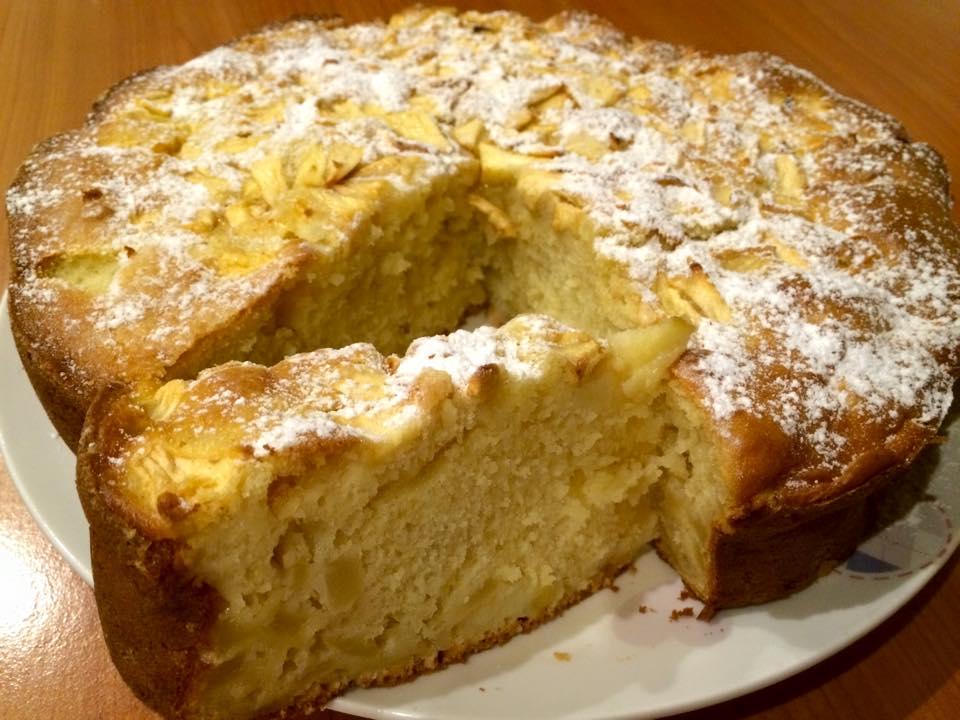 torta mele e mascarpone Bimby Giusy