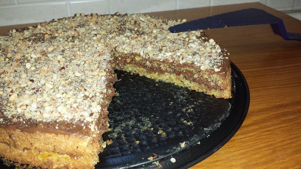 torta nutella Bimby Caterina