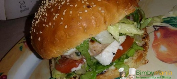pane per hamburger Bimby annamaria 4