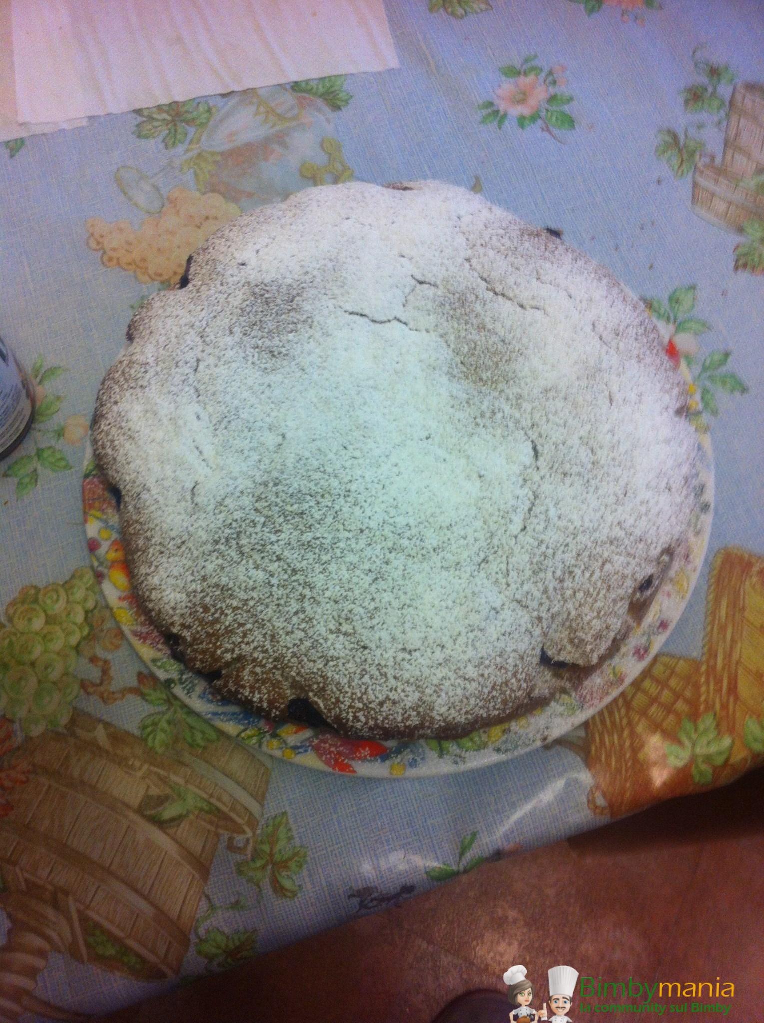 torta al grano saraceno e marmellata Bimby Enza