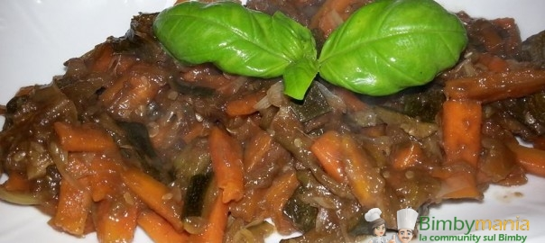 verdure in agrodolce Bimby Benny