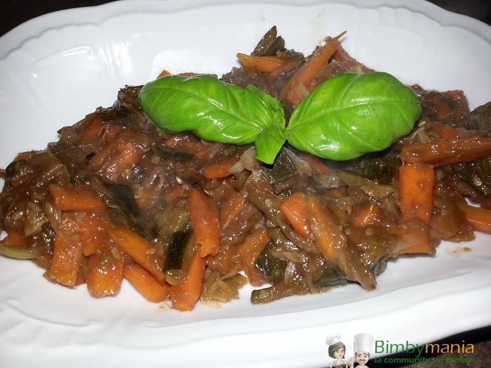 verdure in agrodolce Bimby Benny