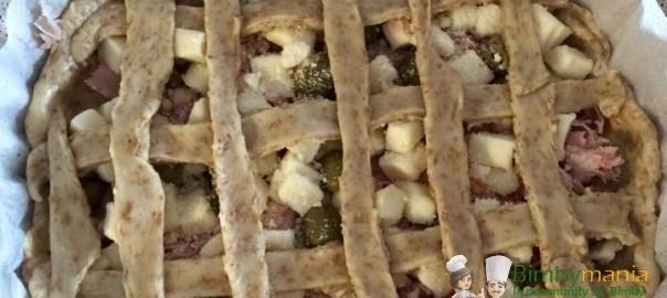 Crostata salata Bimby al prosciutto