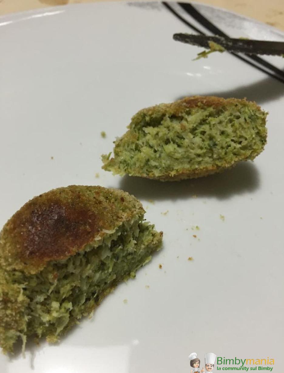crocchette di broccoli Bimby