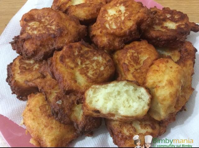 frittelle formaggiose Bimby Caterina