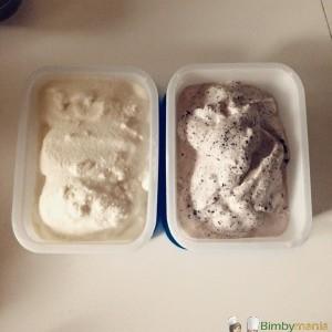 gelato fiordilatte Bimby variegato