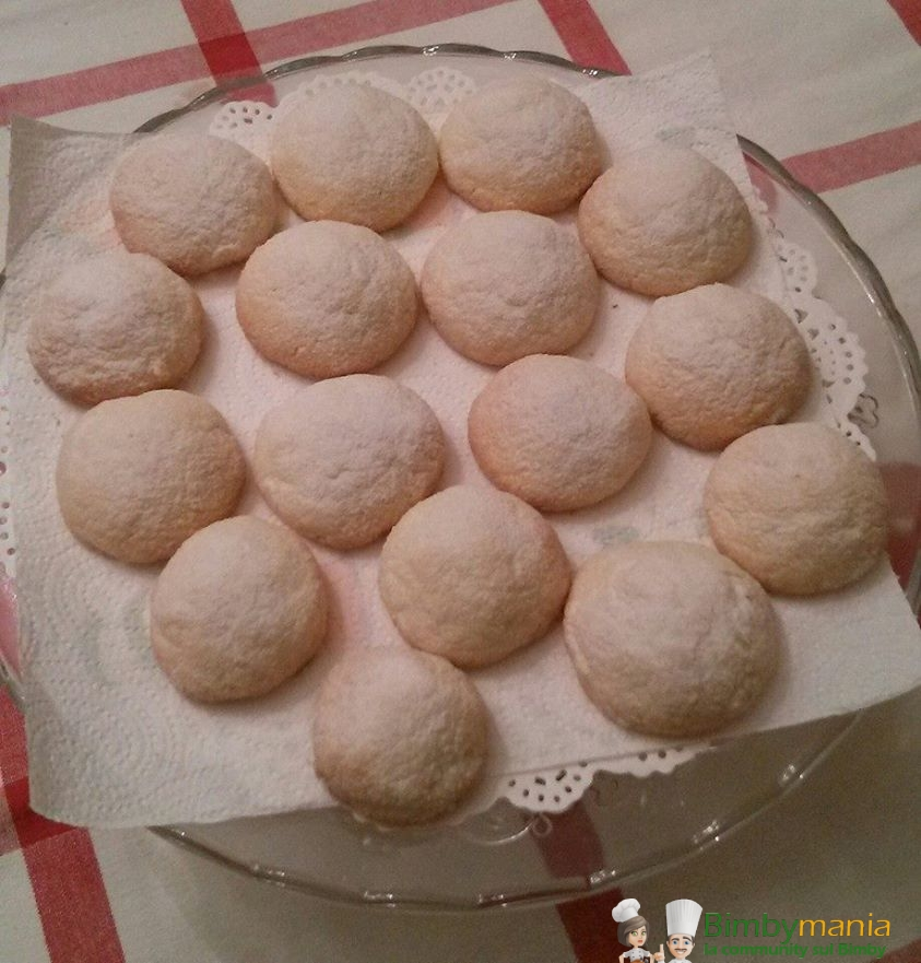 biscotti morbidi al limone bimby