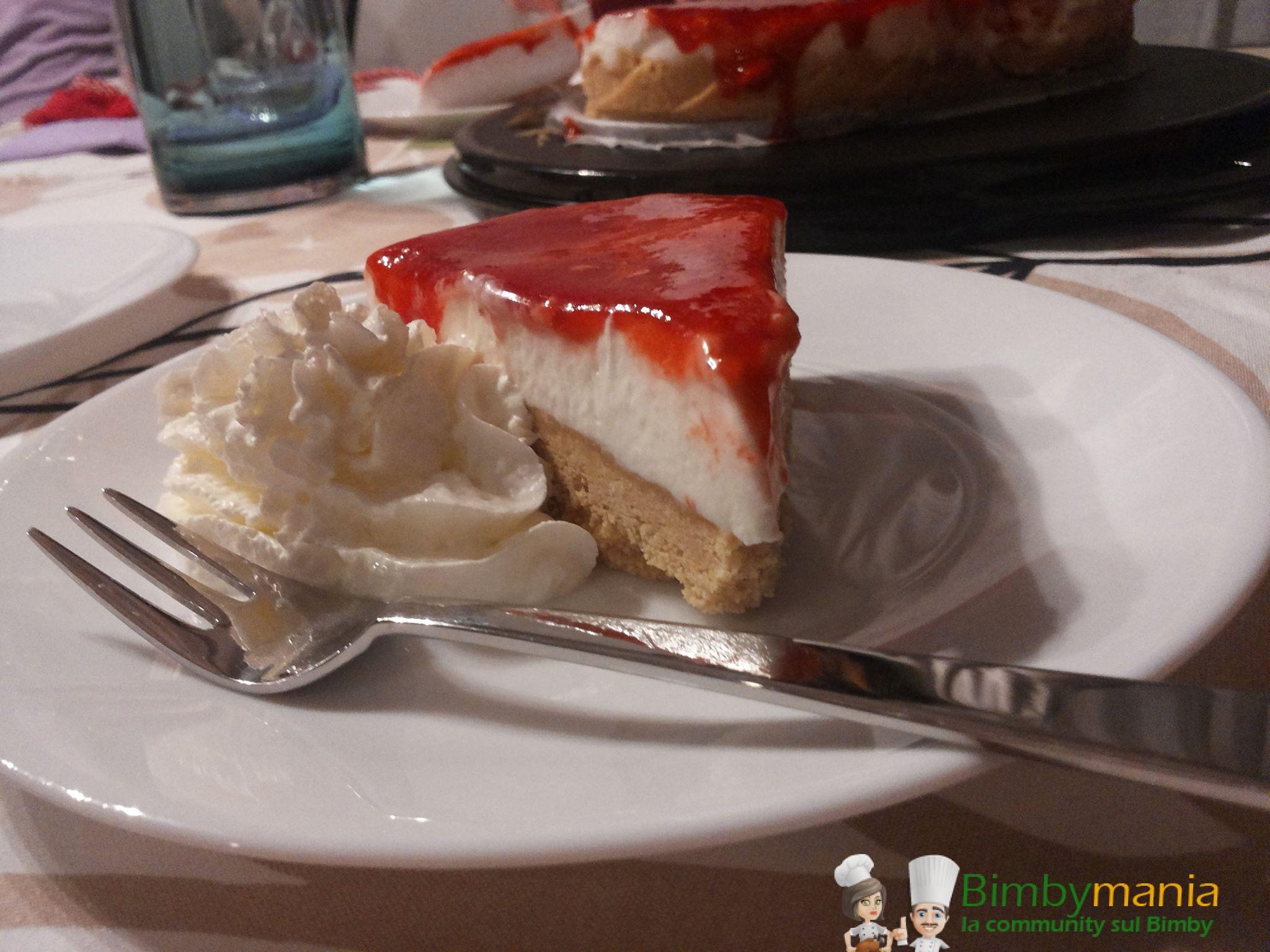 cheesecake Bimby senza gelatina