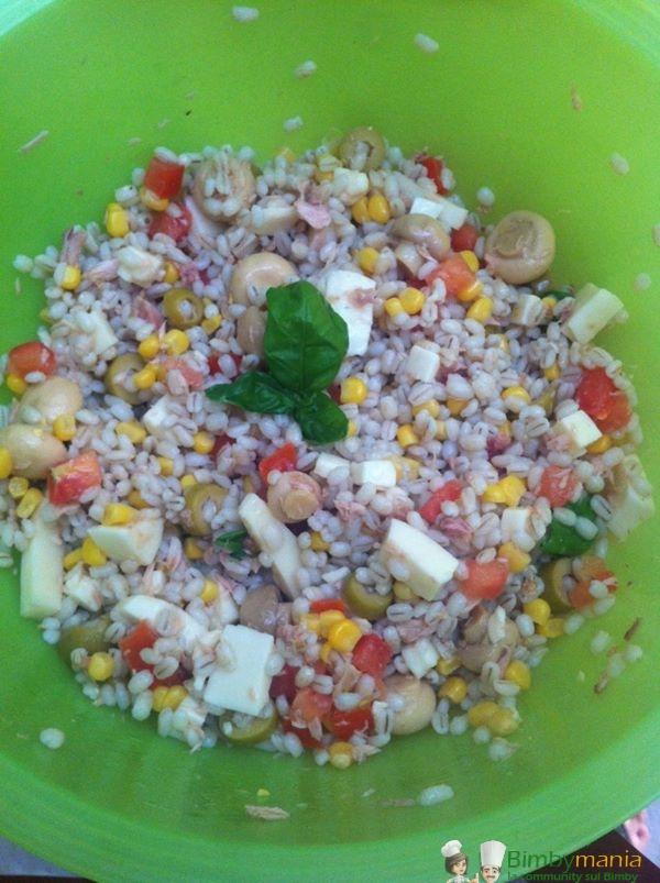 insalata di orzo Bimby