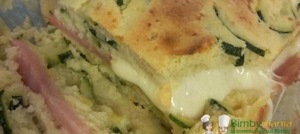 Plum cake zucchine 2