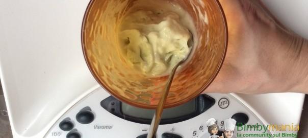 gelato banana e cetriolo Bimby