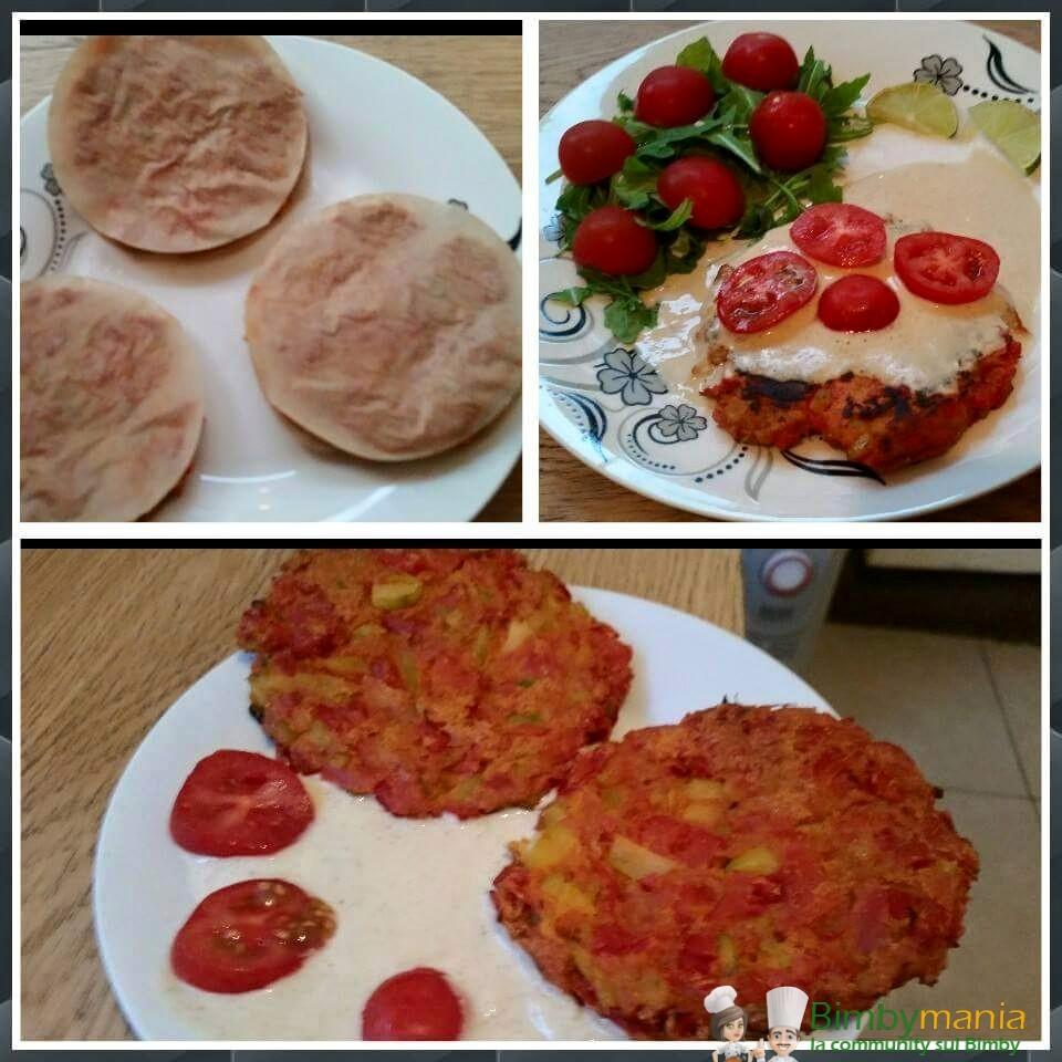 hamburger vegani Bimby