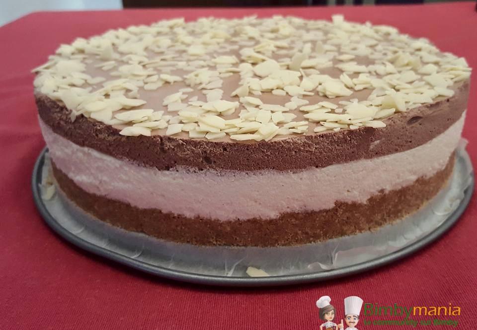 torta fredda cacao e philadelphia