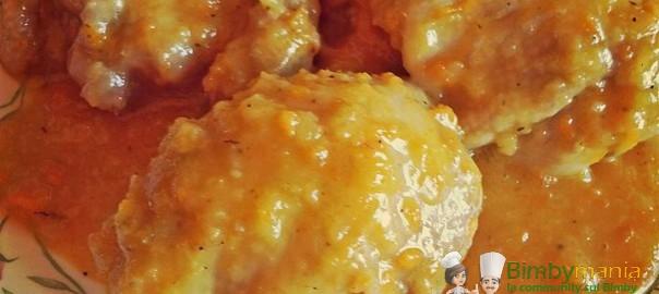 cosce di pollo stufate Bimby