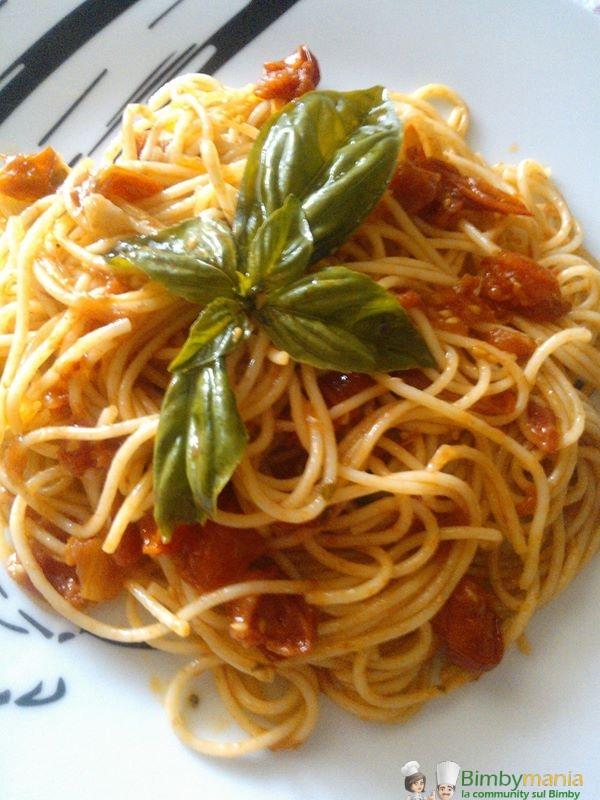 spaghetti con pachino Bimby