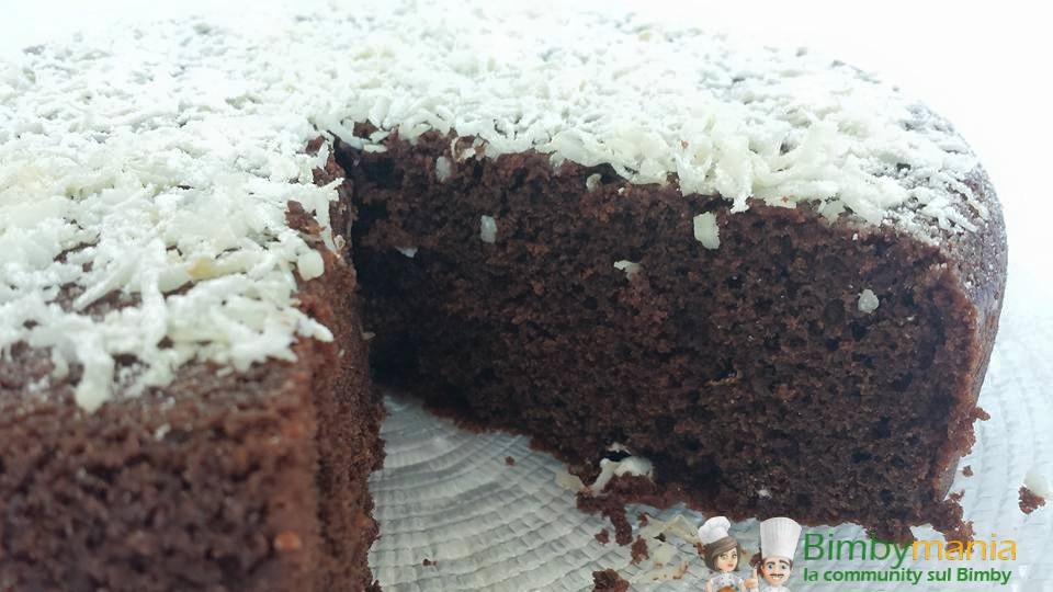 torta ciocco cocco bimby 2
