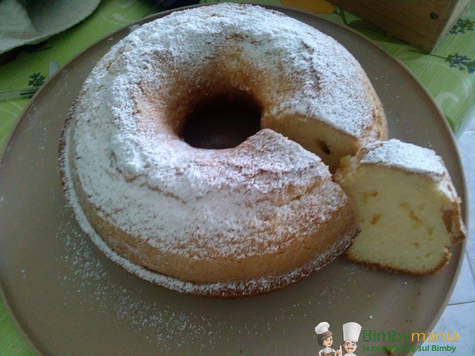 Ciambella Soffice Al Latte Bimby Ricette Bimby Tm31 Tm5