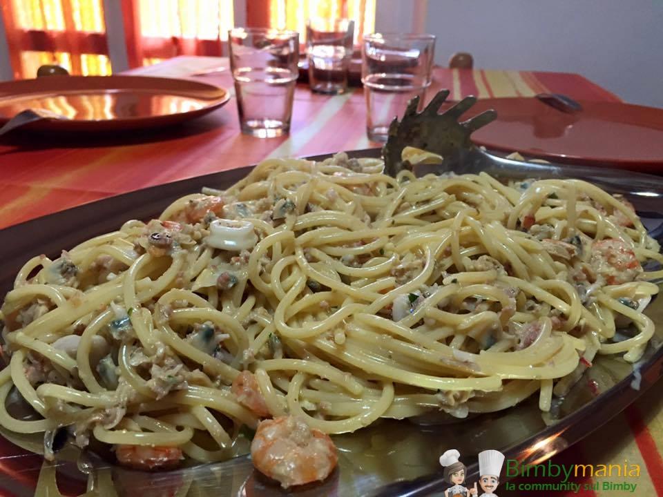 Carbonara di pesce bimby ricette bimby tm31 tm5 for Primi piatti ricette bimby