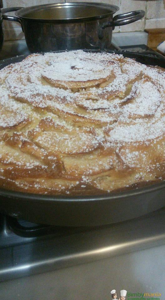 Torta di mele soffice Bimby