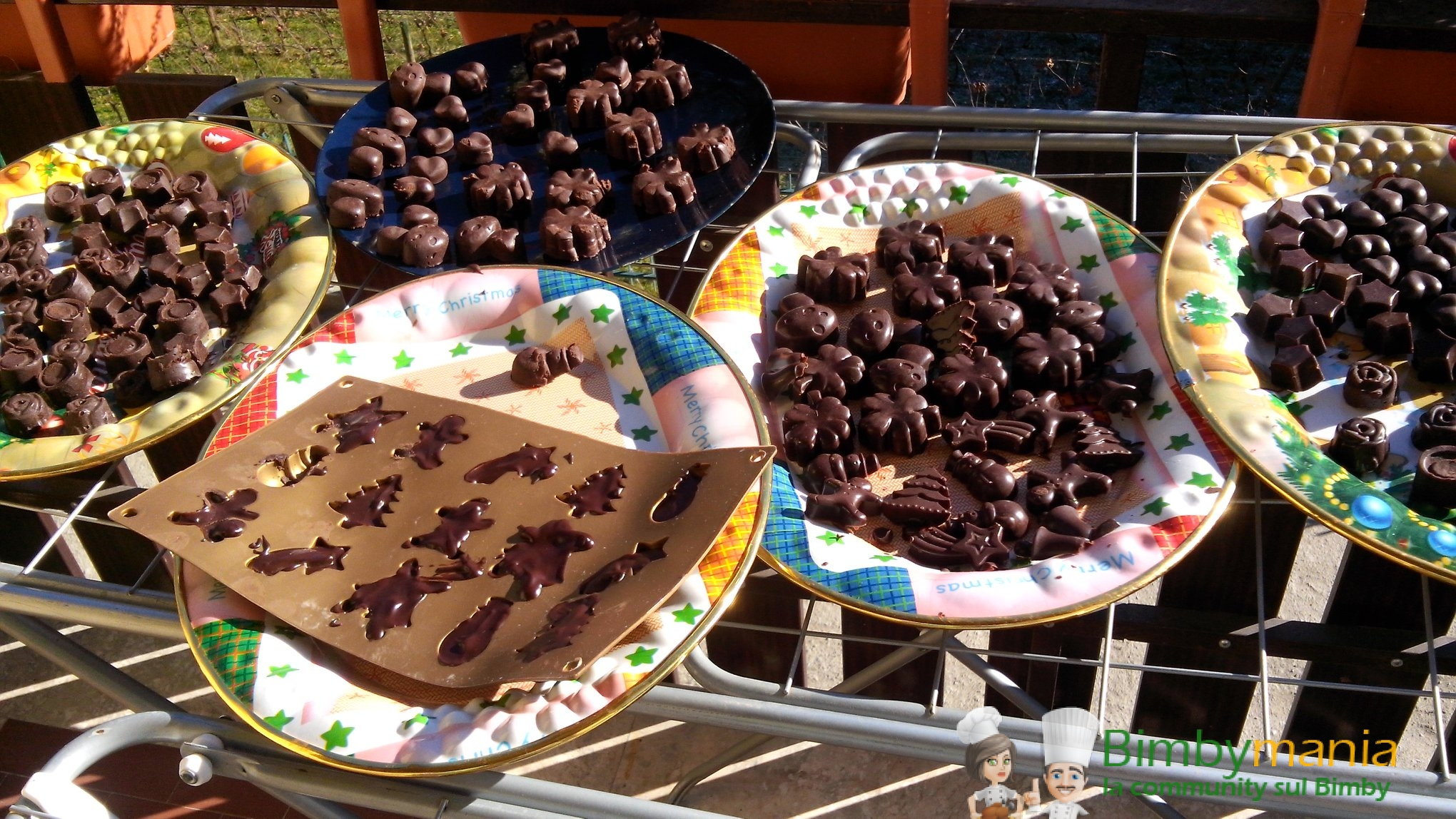 cioccolatini al peperoncino e pepe rosa Bimby