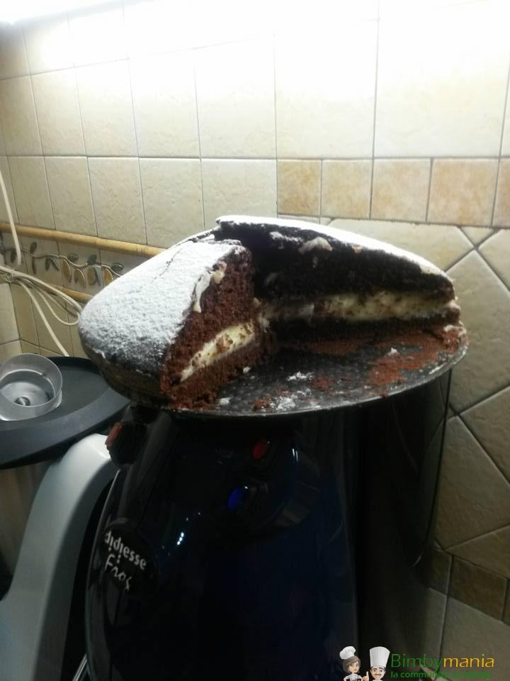 torta al cacao senza uova bimby